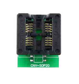 Wide SOP8 to DIP8 8 pin IC socket SOIC8 1.27mm Pitch Adapter